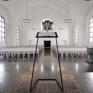 Grøndal Church - Erik Brandt Dam Architects